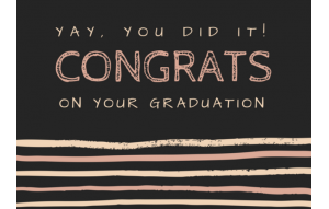 Congrats On Your Graduation
