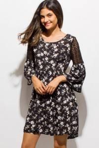 BOHO LACE TUNIC DRESS